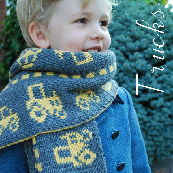 The Trucks Collection - Knitting Patterns & Kits by Phibersmith Designs