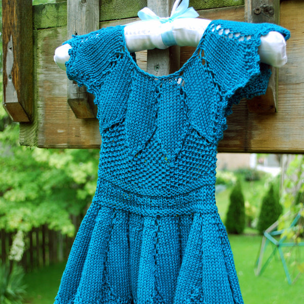 Madalena Dress Kit - Knitting Kit by Phibersmith Designs