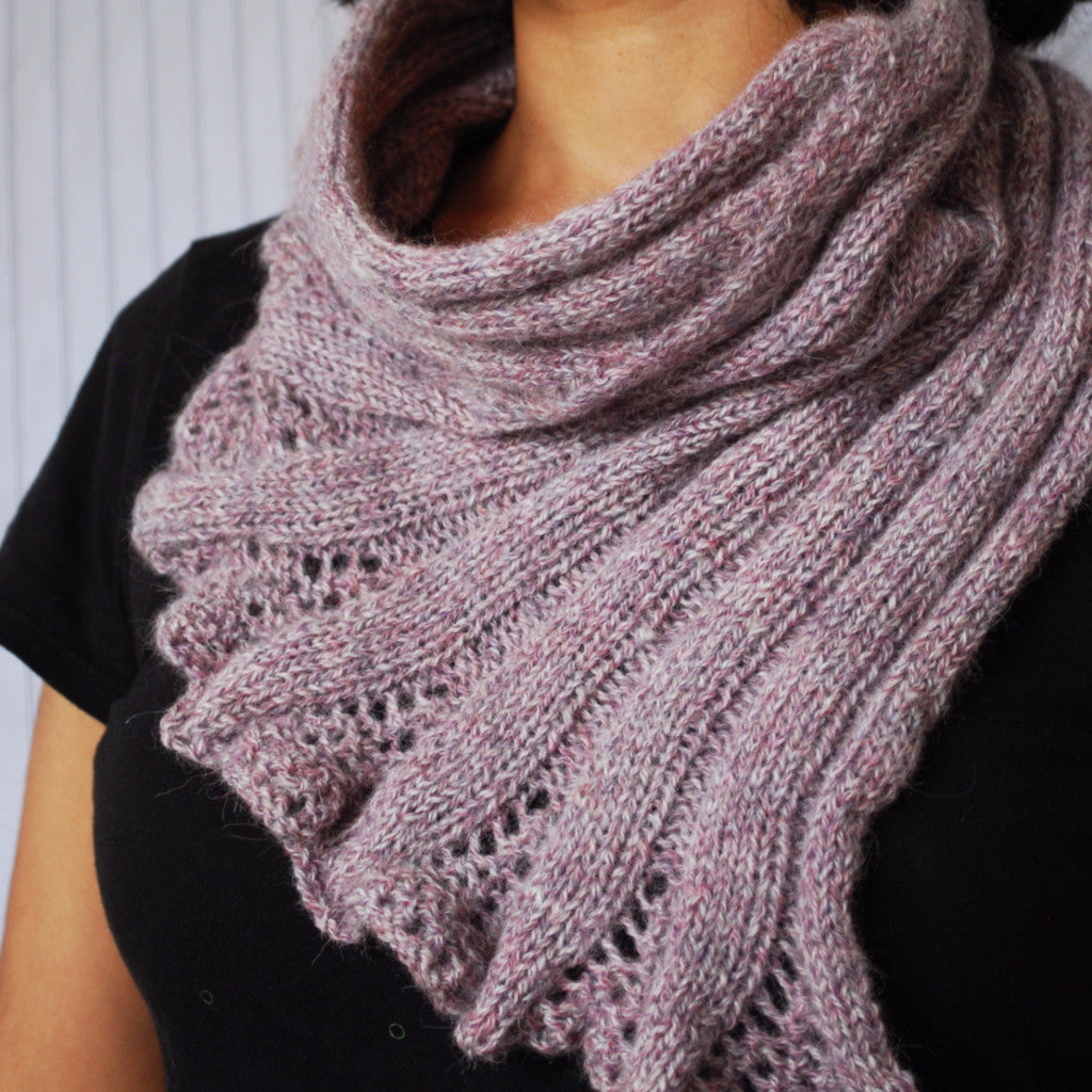 Seashell Cowl Pattern (PDF) - Knitting Pattern by Phibersmith Designs