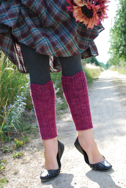 Balsam Grove Boot Warmers Knitting Pattern (PDF) by Phibersmith Designs