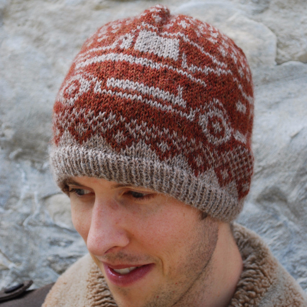 North American Muscle Hat Pattern (PDF) - Knitting Pattern by Phibersmith Designs