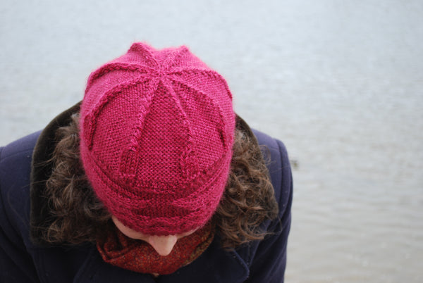 Soft is the song my paddle sings - Canada 150 Hat Knitting Pattern (PDF) by Phibersmith Designs