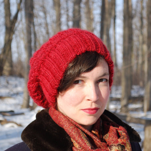 Colborne Hat Knitting Pattern (PDF) by Phibersmith Designs