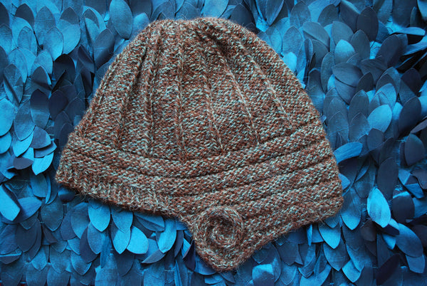 Lovelock Cloche Pattern (PDF) - Knitting Pattern by Phibersmith Designs