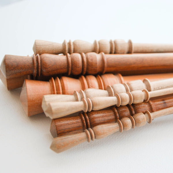 Surina Wood Hand-turned Knitting Needles