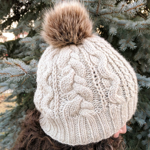 Comforati Hat Knitting Kit by Phibersmith Designs