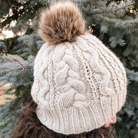 Comforati Hat Knitting Pattern (PDF) by Phibersmith Designs