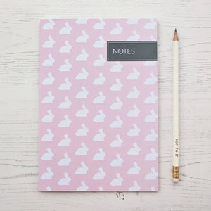 Our Rabbit Pins and Notebooks Have Hopped In For Spring!