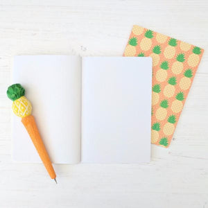 Gift Ideas for Pineapple Lovers - Pineapple Pen and Notebook