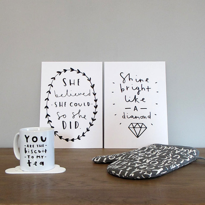 Hurray! The Treasured now stocks stylish homeware and gifts from Old English Company