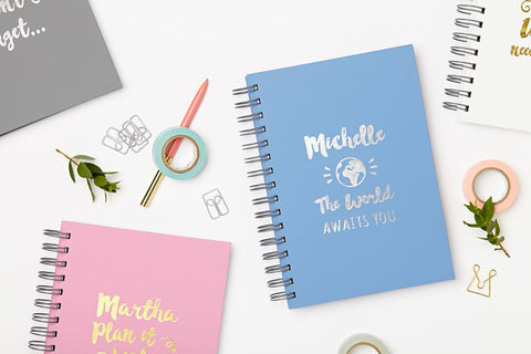 Love Give Ink Personalised Notebooks and Diaries