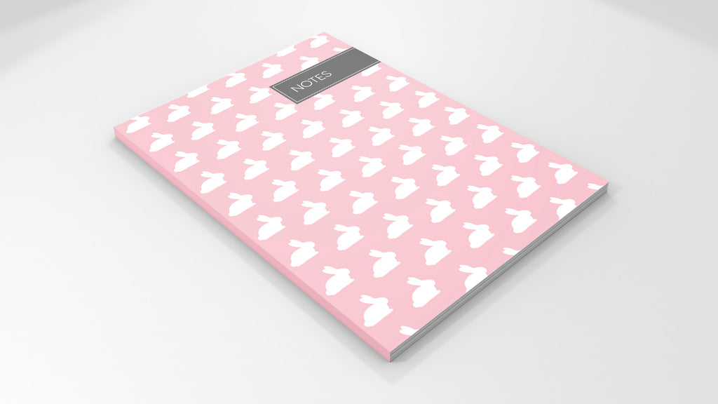 The Treasured Rabbit Notebook Mock-Up