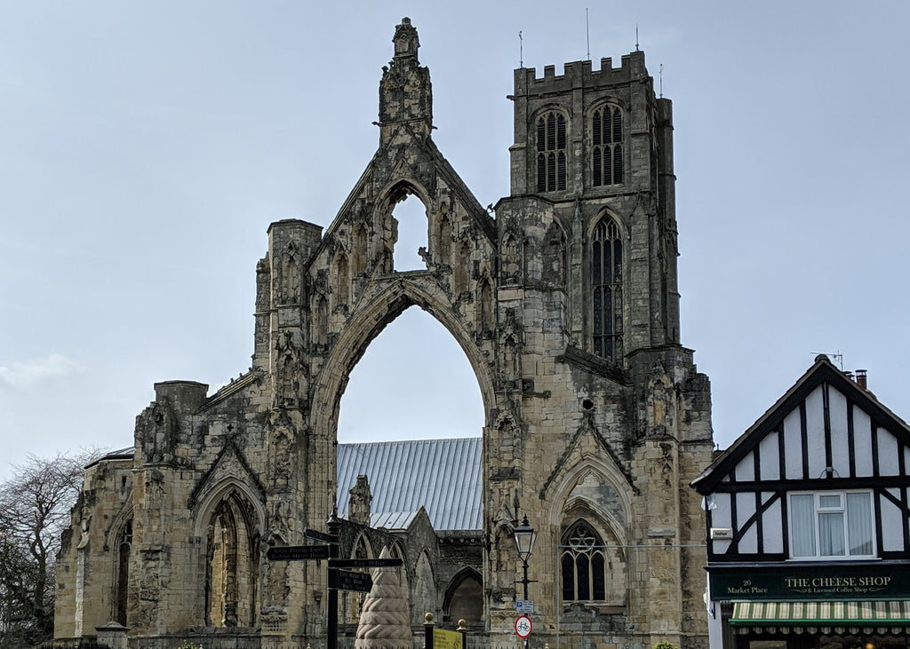 Howden Minster in East Yorkshire, UK