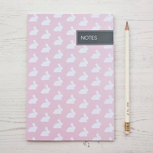 Pink Rabbit Notebook - The Treasured