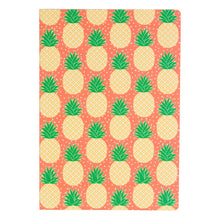 Tropical Summer Pineapple A5 Notebook - The Treasured
