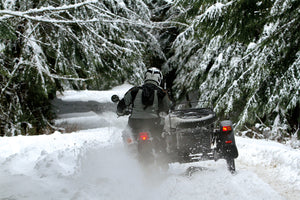 Dashing through the snow, with Ural Gear