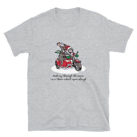 Ural Inspired Holiday Short-Sleeve Unisex T-Shirt