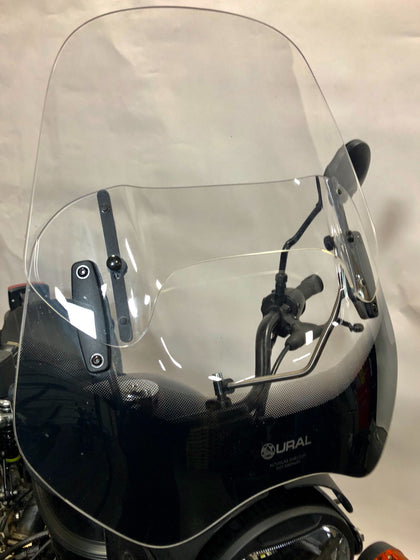 Ural Adjustable Touring Windscreen - Clear