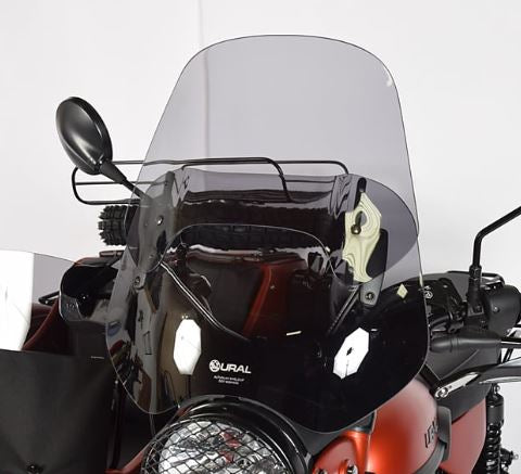Ural AdjustableTouring Windscreen - Smoke