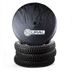 Ural Wheel Cover Black Vinyl