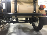 Ural Sidecar Rear Bumper - Single-Tube