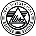 Ural Luggage Rack Bracket Assembly- Flat Black