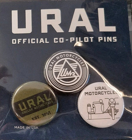 Ural Official Co-Pilot Pin Pack