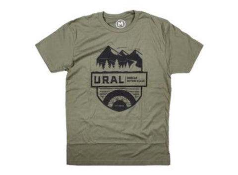 Ural T-Shirt ADVENTURE- Green