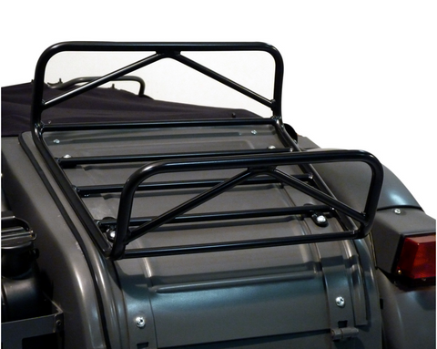 Ural Luggage Rack for Sidecar Trunk Lid- Black