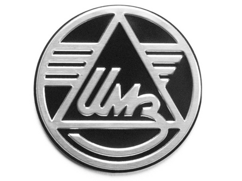 Ural IMZ Logo Badge 28mm