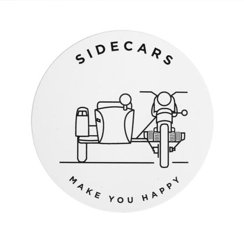 Ural -Side Cars Make You Happy- Decal