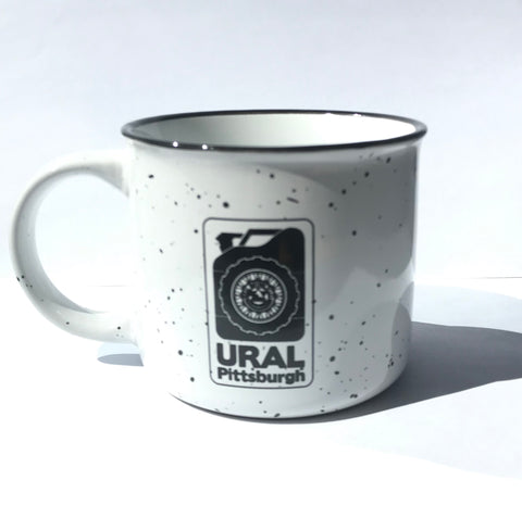 Ural Pittsburgh Campfire Coffee Mug  / White
