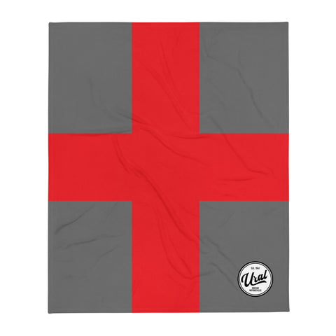 Ural Cross Throw Blanket