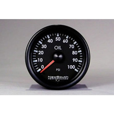 Newsouth Indigo 100 PSI Oil Pressure Gauge