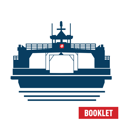 Ferry Ticket Booklet