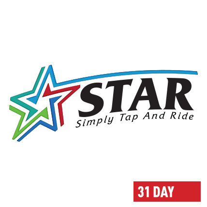 Silver STAR Card - 31 Day