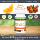 Vitamin C with Lavitol DHQ - 14 Capsules
