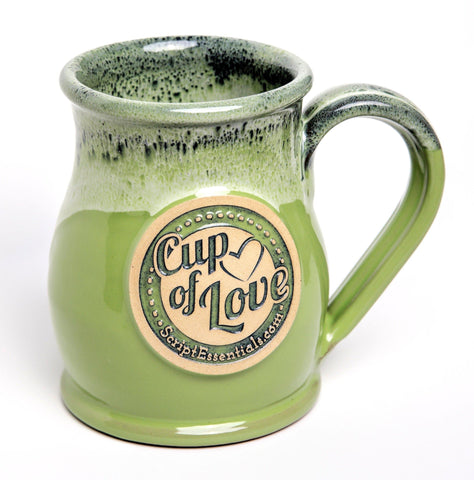 Products - Cup Of Love - Soft Lime Green