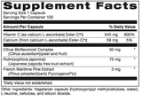 Supplement - Ester C With Bioflavonoids
