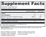 Supplement - MagFocus Mag Threonate Pdr