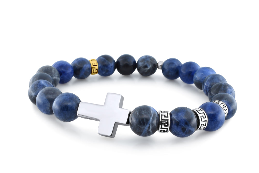 Premium Cross Sodalite (8mm) - Gemvius