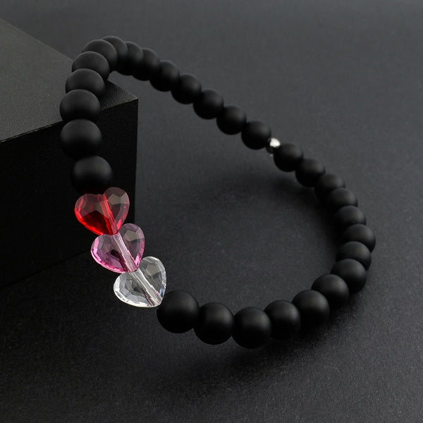 I Love You - Matte Onyx (6mm) - Gemvius