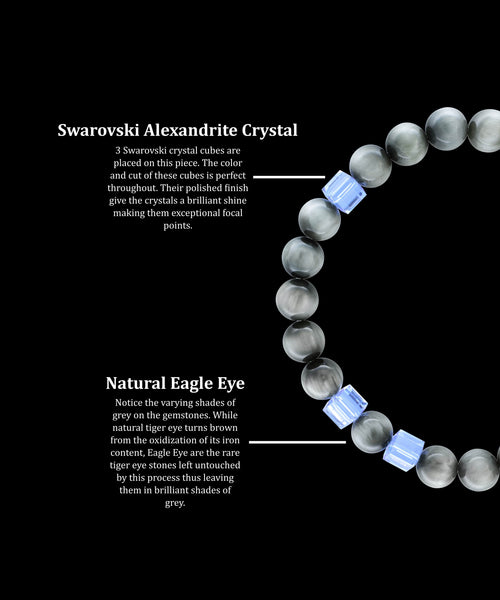 June Alexandrite Eagle Eye (8mm) - Gemvius