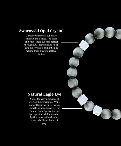 October Opal Eagle Eye (8mm)