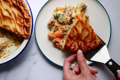 Leftovers Pie Serving