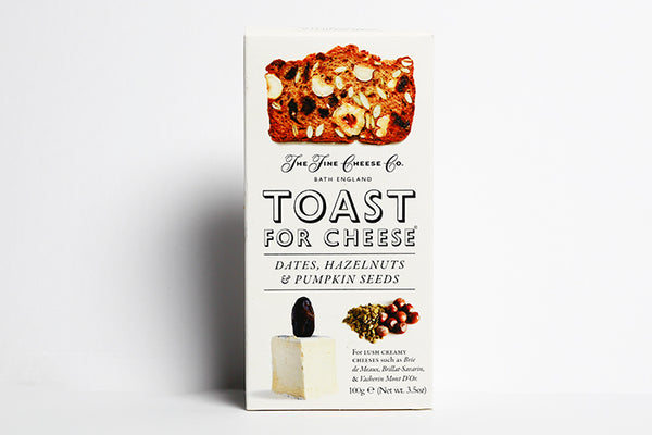 TOAST FOR CHEESE; DATES HAZELNUTS AND PUMPKIN SEEDS - Best British meat by Family-run butchers London | Eat better meat!