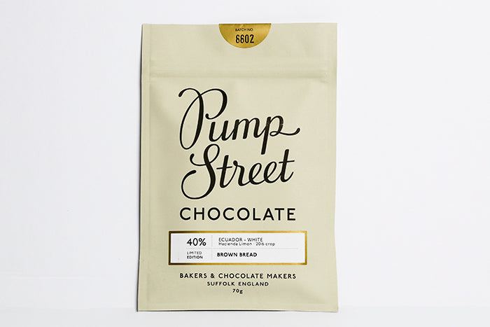 PUMP STREET CHOCOLATE; BROWN BREAD