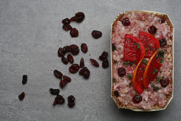 Cranberry and Blood Orange Stuffing
