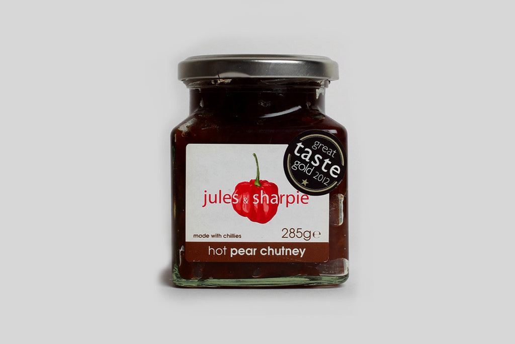 Jules & Sharpie Hot Pear Chutney
