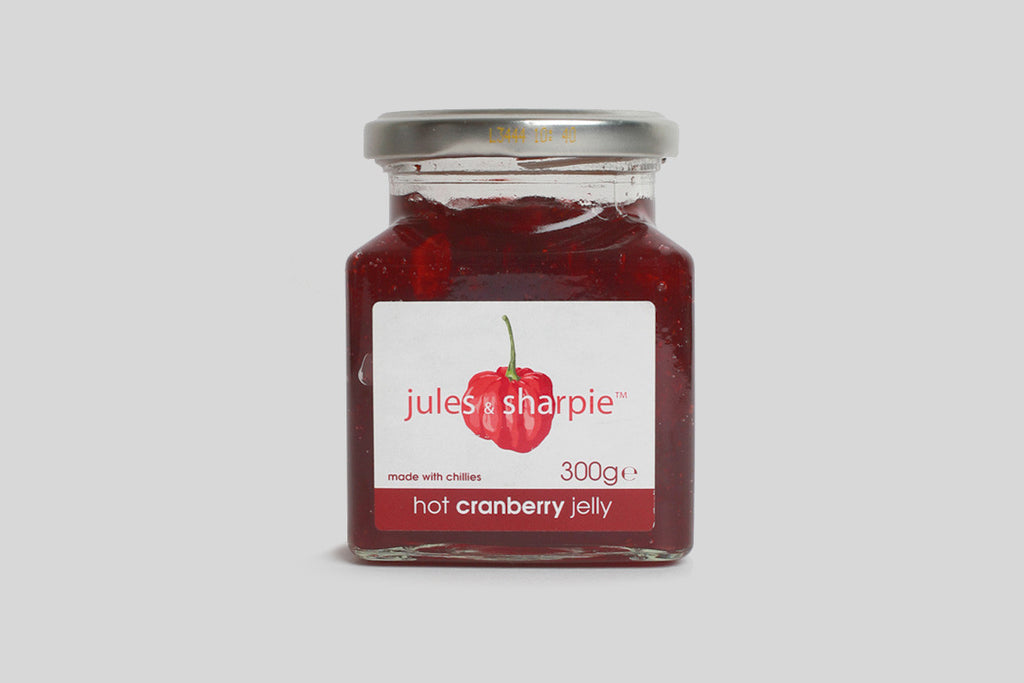 Jules & Sharpie Hot Cranberry Jelly